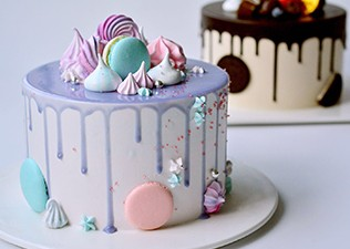 淋面网红蛋糕2