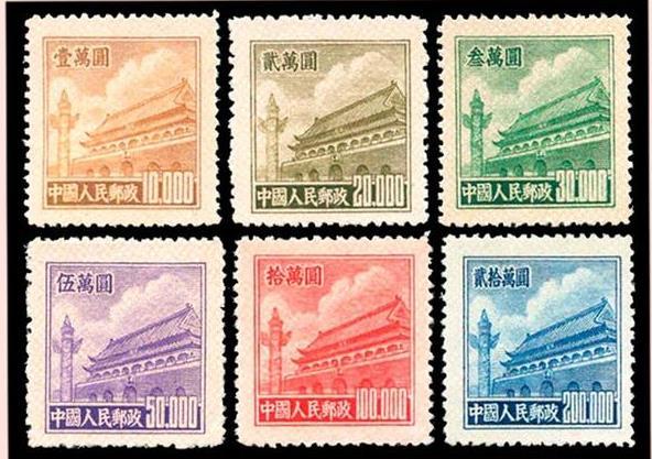 """新中国邮票普五邮票收藏价值和两枚""""劲票"""""""