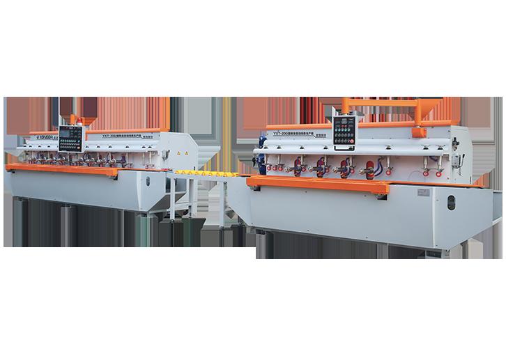 YD-200II(4+8)自动对刀线条抛光生产线
