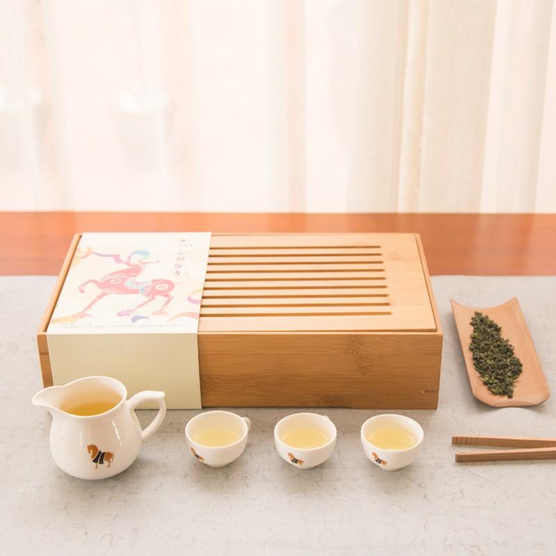 八马  茶叶茶具礼盒套装