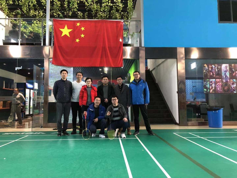 后备人才第四组举行团建羽毛球友谊赛