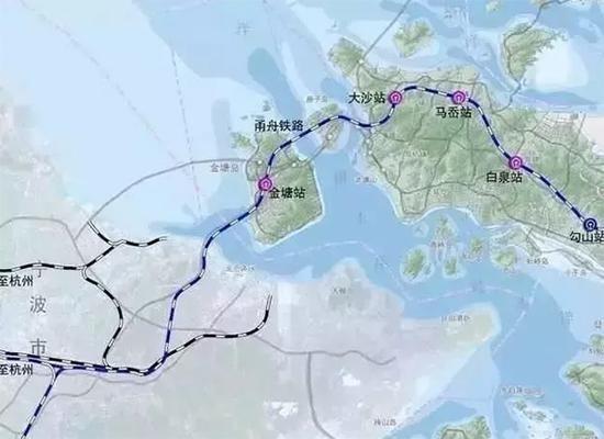 时事论坛|甬舟铁路要造国内首条海底高铁隧道!