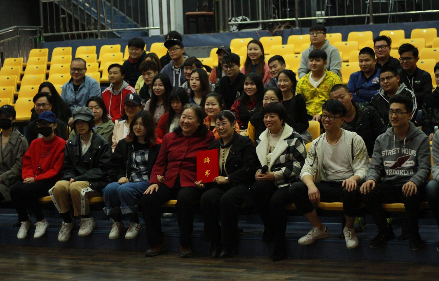 中國傳媒大學教授劉晔原來我院舉辦講座