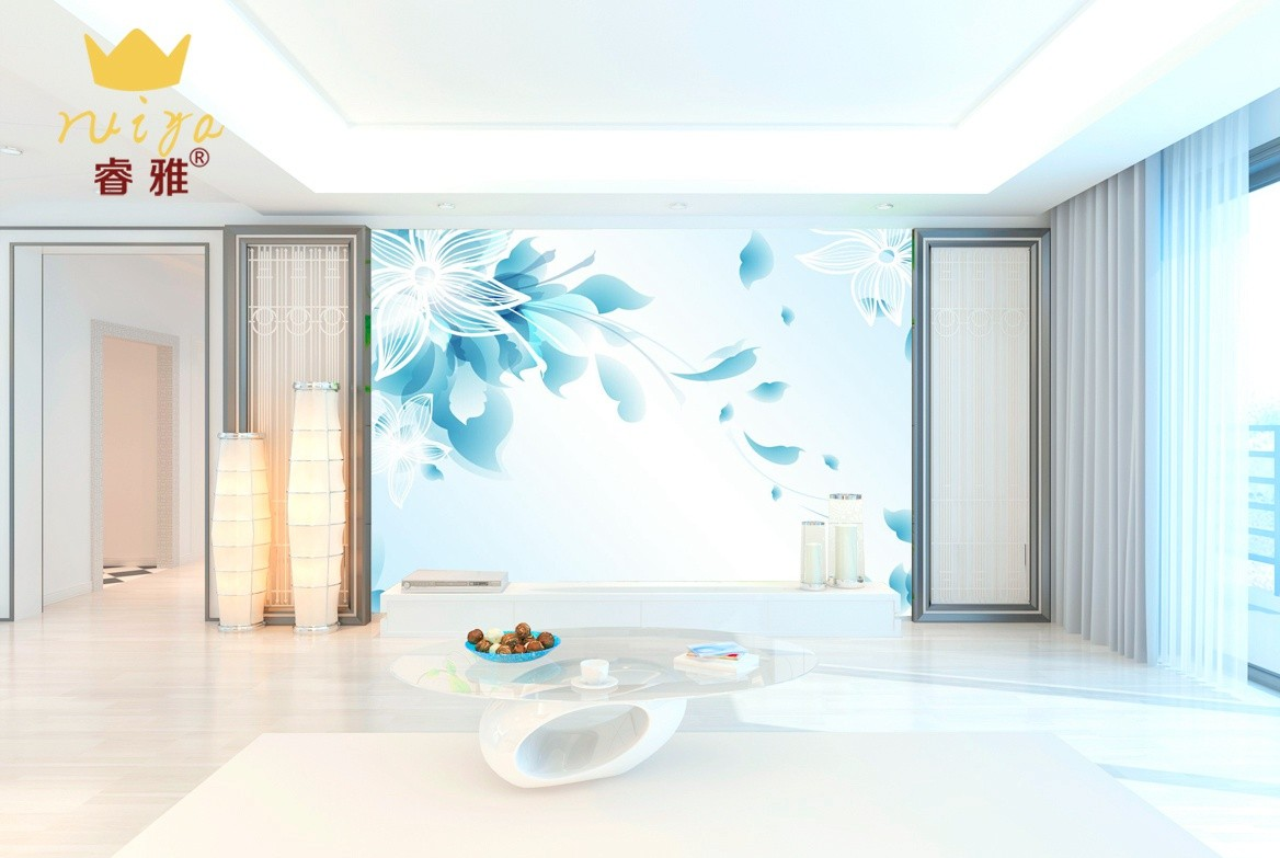花朵585 工艺:平面UV-150元/m²