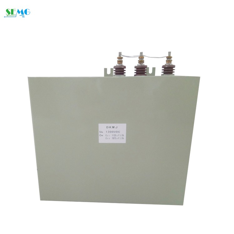 DC filter capacitor 1300v 9000uf film capacitor