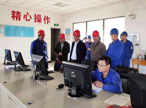 董事长闫庆林到嘉峪关奥福视察