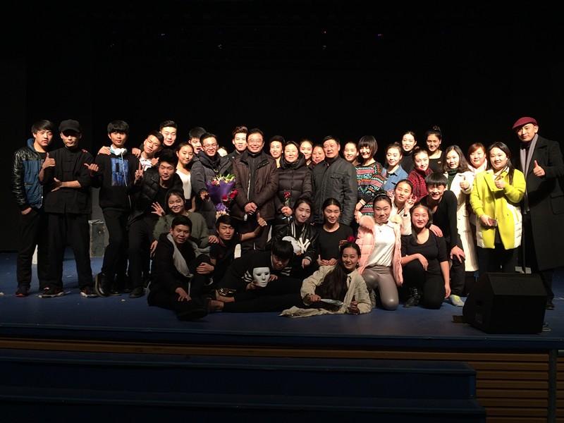 表演系15级3班第一学年上半学期表演期末汇报