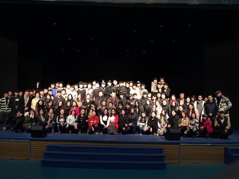 表演系15级1班第一学年上半学期表演期末汇报