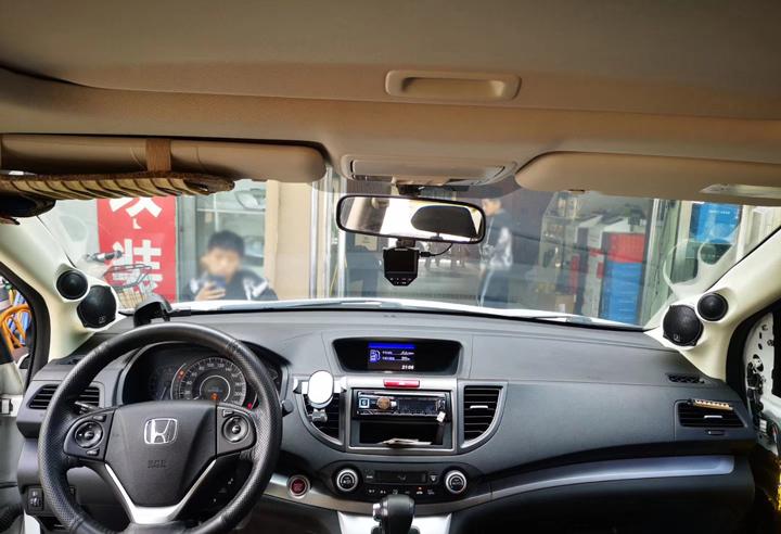 内外兼修!本田CR-V音响升级德国HELIX