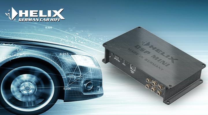 听见梦寐以求的声音!奥迪A6再次升级德国HELIX DSP MINI处理器
