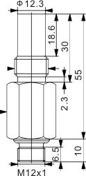 耐高压力型电感式接近开关 M14