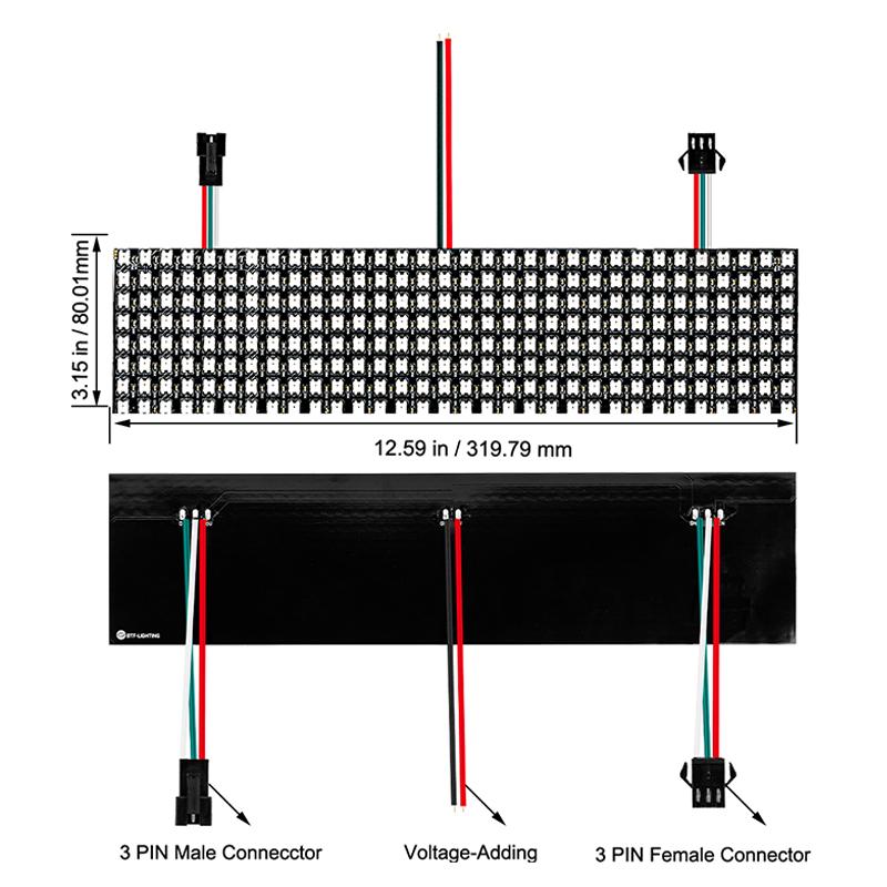 Precautions for LED display of magic lamp
