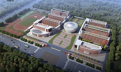 新城学校鸟瞰图