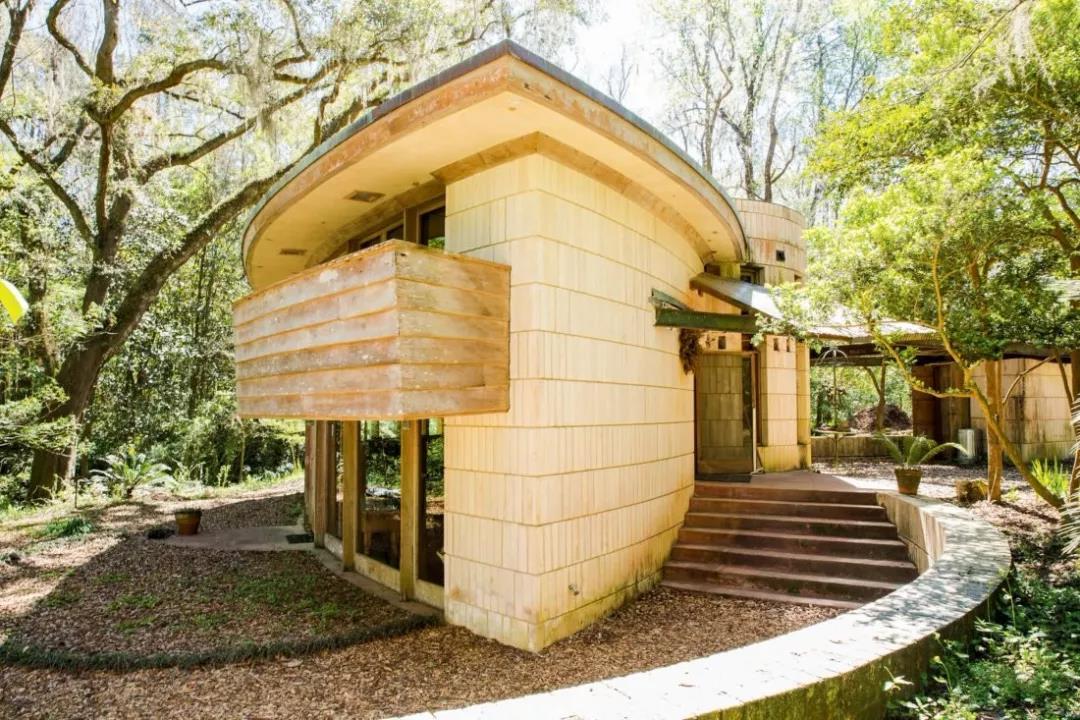 种草一种风格,赖特风格别墅景观设计