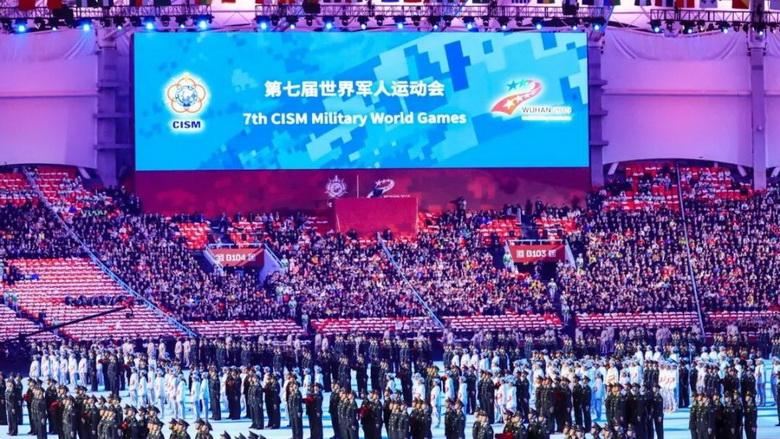 音王为第七届世界军人运动会保驾护航