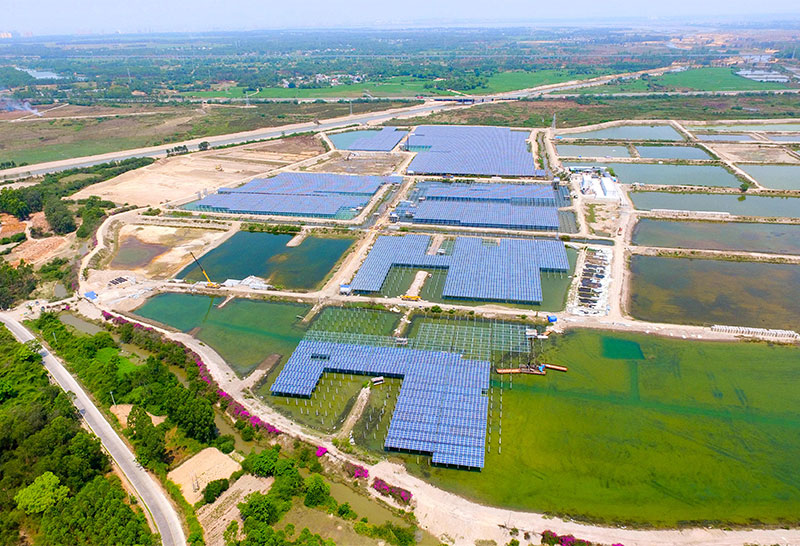 海南儋州20MW渔光互补电站项目