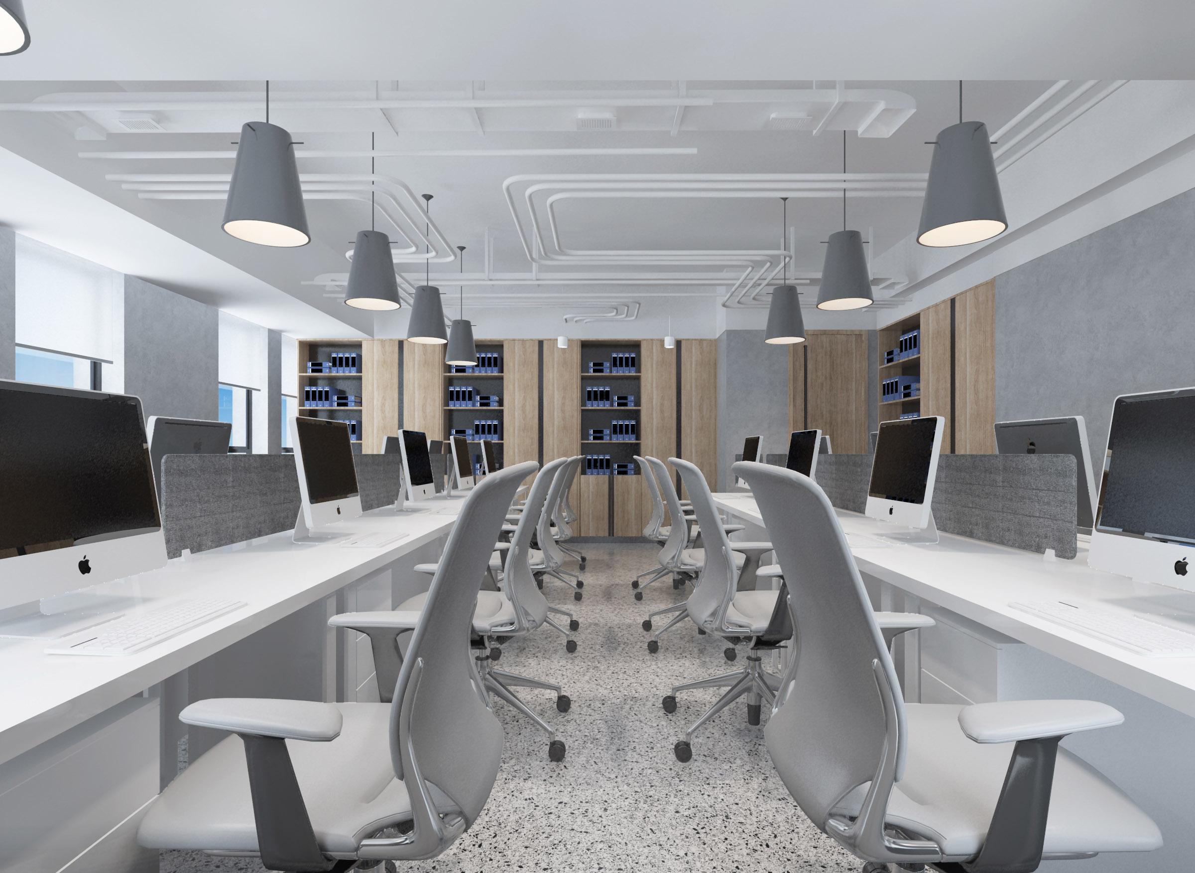 善水左岸办公空间设计项目
