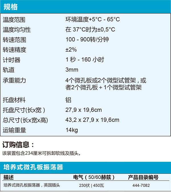 VWR®培养式微孔板振荡器
