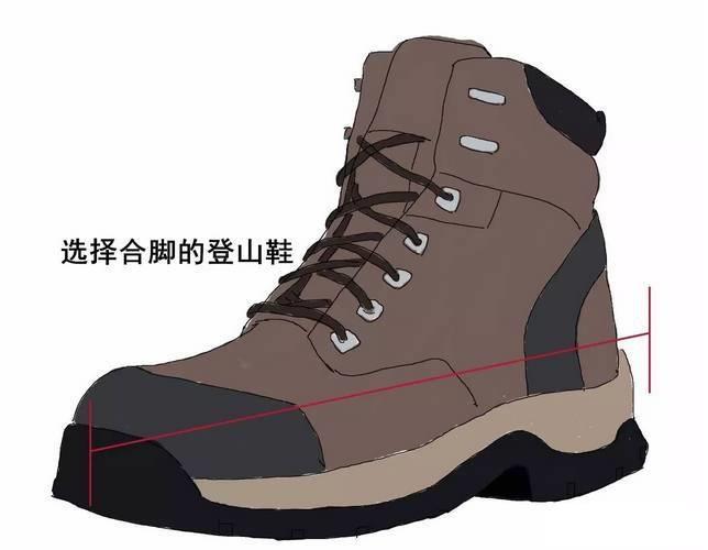 选择合适的鞋子