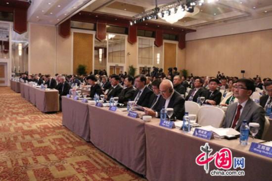 第八届跨国公司领袖圆桌会议在京召开