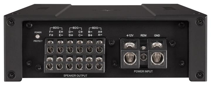 高端玩家的发烧利器!德国HELIX M SIX六声道功放