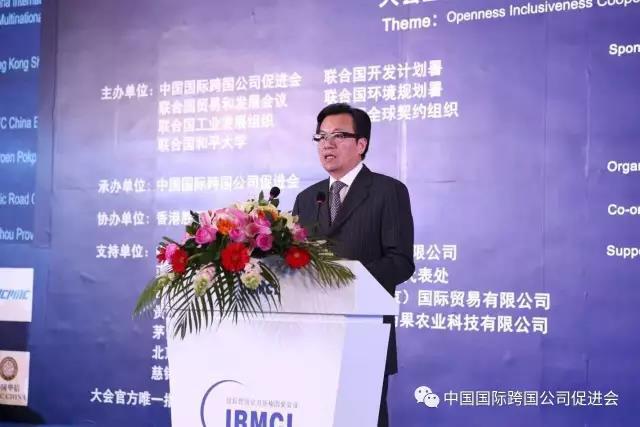 李卓彬   侨商企业要善于抓住机遇,主动融入充满东方智慧的共同繁荣发展方案