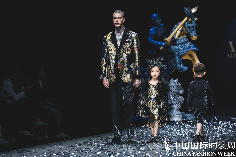北京丰台少儿模特培训●蓓丽童模李梓钒参加AIZILINLIN儿童礼服高级定制发布会