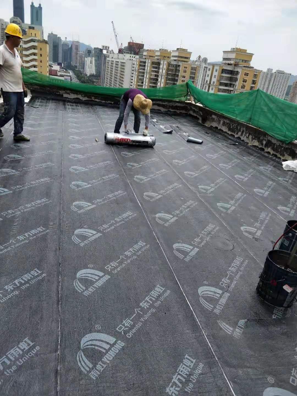 華強北電子大廈天面防水工程