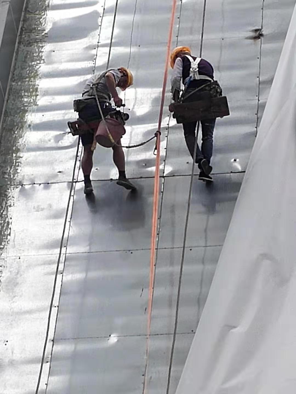 馬成時代廣場外墻漏水治理