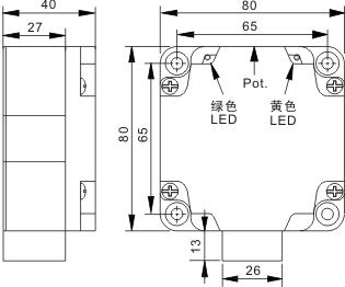 电容式接近开关 Q80
