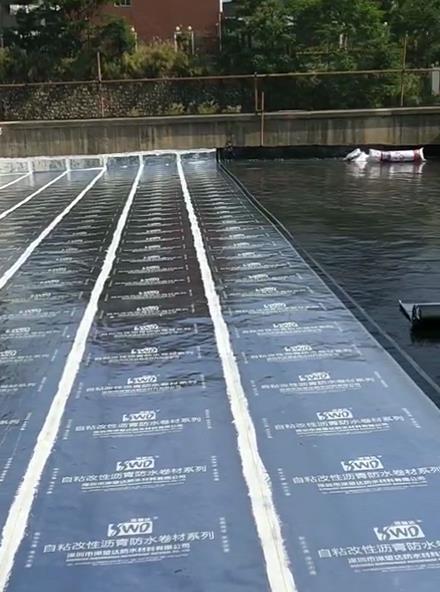 大浪印刷厂天面防水工程