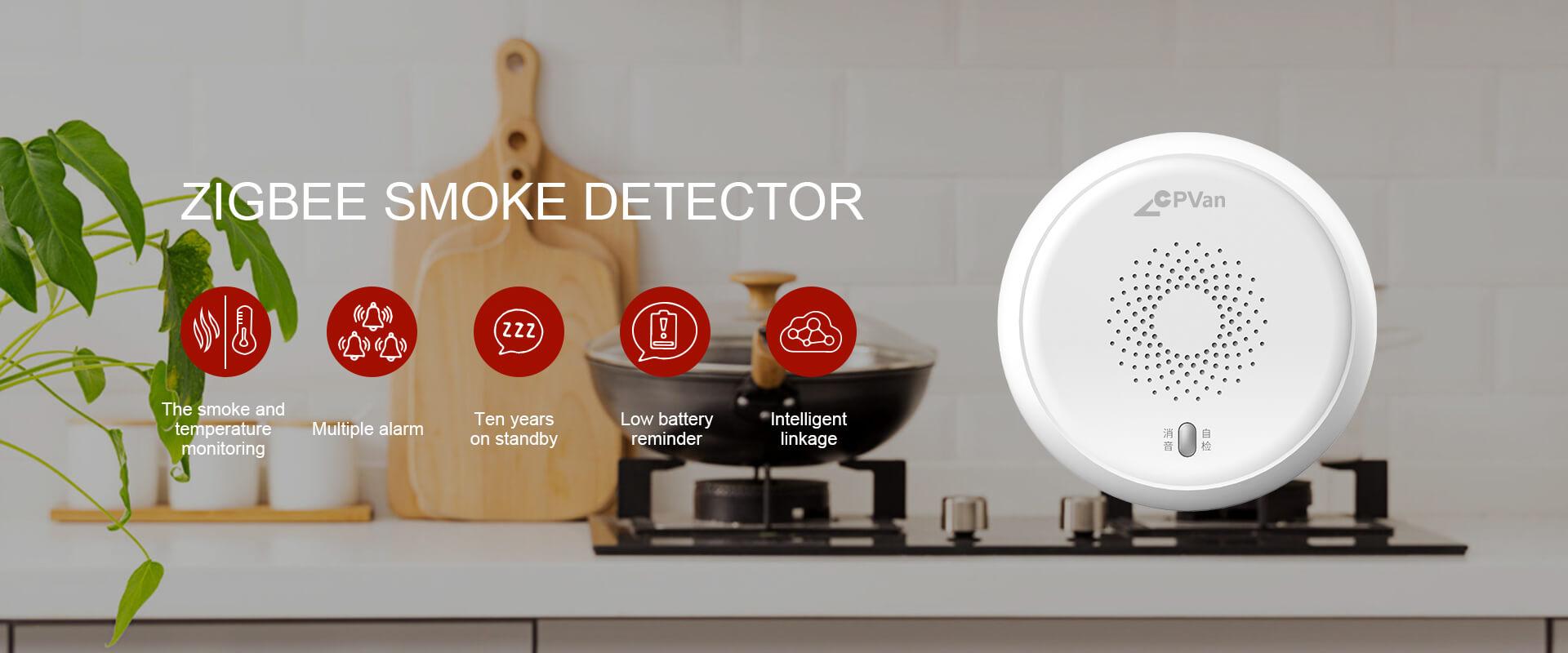 Zigbee Smoke Detector