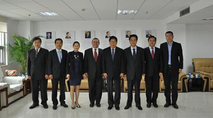 Zheng Wantong, Vice-Chairman of the 11th National Committee of CPPCC and President of CICPMC Meets with Global Vice President of JPMorgan