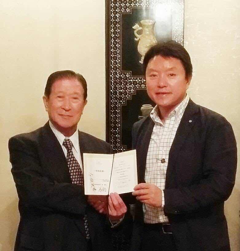 Mr. Ma Jun, Chairman of China Enterprise Confederation Group and Vice-chairman of CICPMC Meets with Mr. Imasu, Chairman of Toyo Aluminium K. K