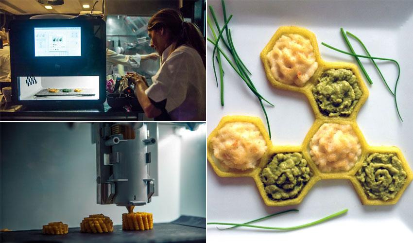 A guide to 3D Printed Food – revolution in the kitchen?