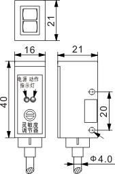 光电开关 T16