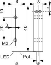 光电开关 Q8