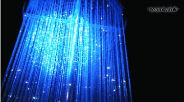 智能互动水晶烟花灯
