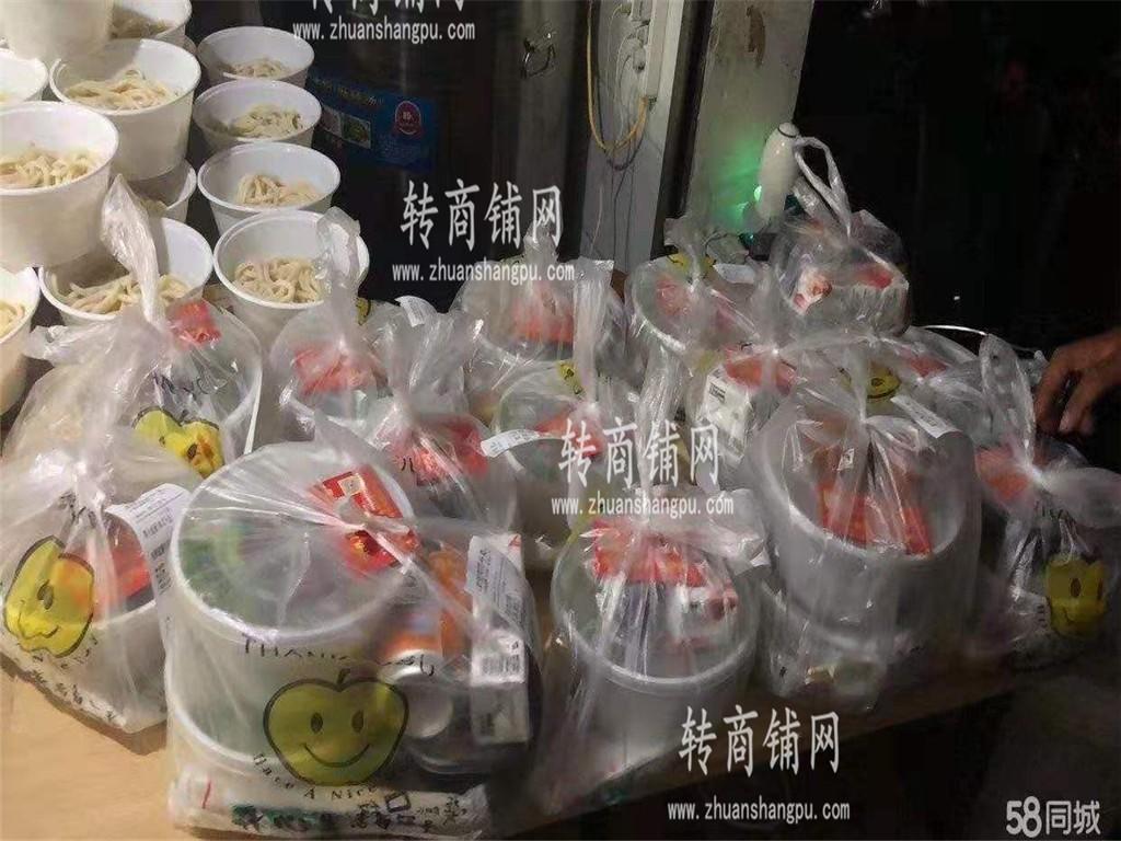 光谷广场盈利中品牌外卖店诚转