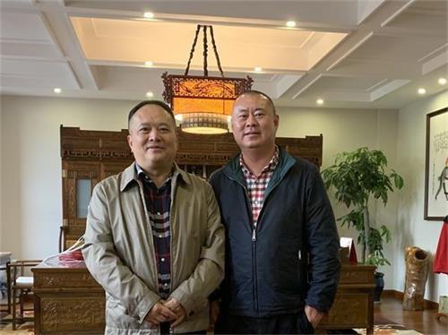 陈小勇总裁、李国辉总工一行到迪威集团考察