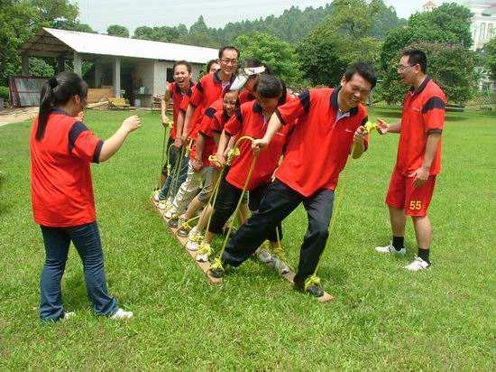 公司团队凝聚力户外拓展训练活动心得体会