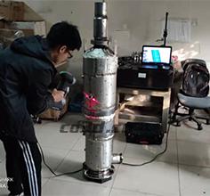 尾气催化器三维扫描