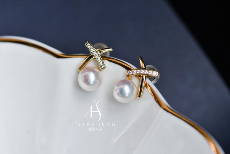 教你4点 选择最合适你的珍珠耳钉