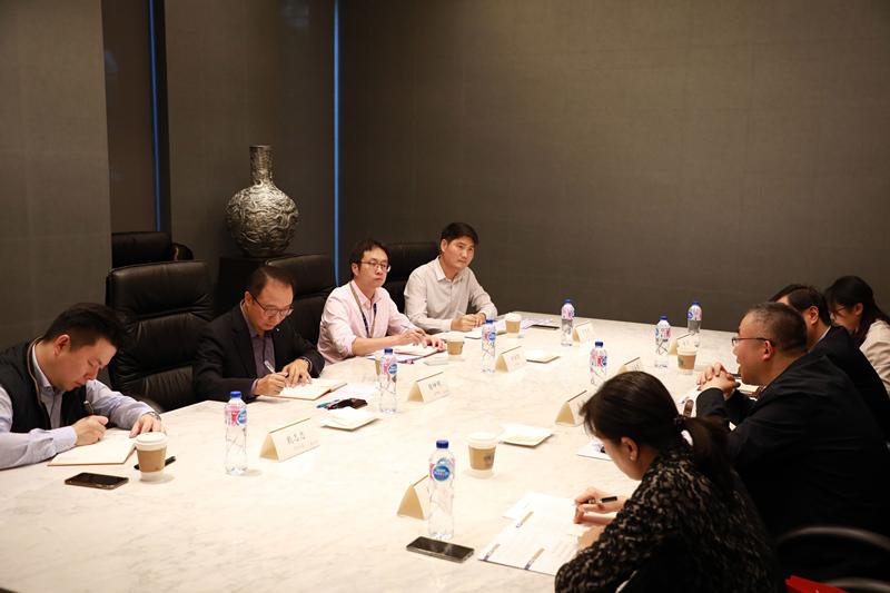 秦都区金融办来访钱柜手机娱乐官网,增长政企沟通