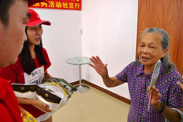 【关爱社区,助力发展】 华星光电走进塘家社区慰问困难群体