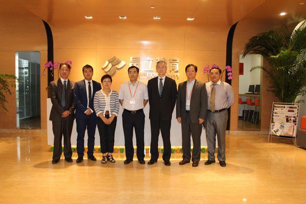 林涛总经理会见日本国书代表团