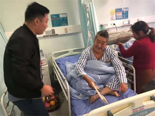 道和远大集团党支部组织员工看望慰问住院老兵