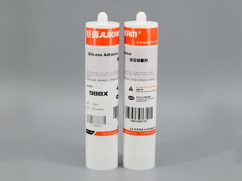 硅胶粘金属的胶水-988X
