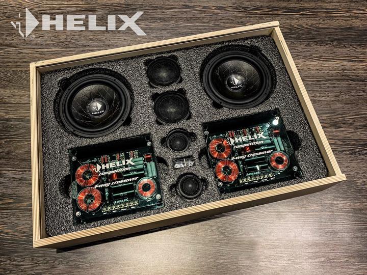 现代音响改装德国HELIX  实现华丽大变身!
