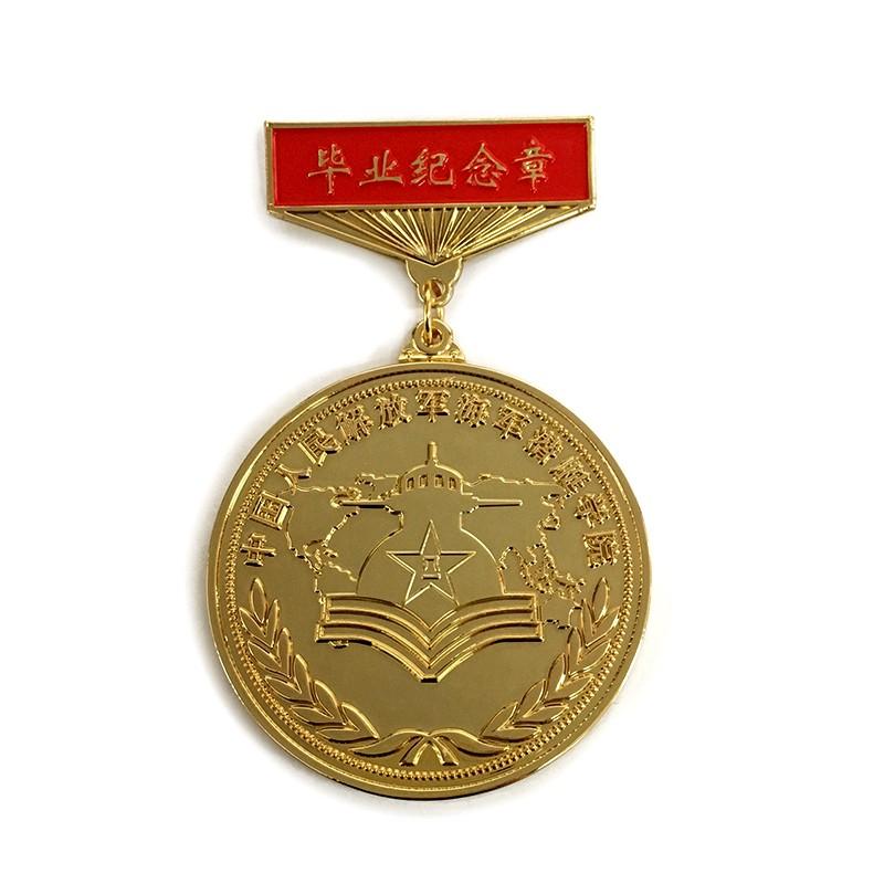 毕业纪念徽章制作 战友聚会纪念勋章徽章定做工厂